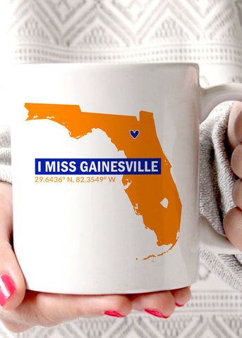 I Miss Gainesville UF Coffee Mug
