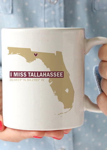 I Miss Tallahassee FSU Coffee Mug