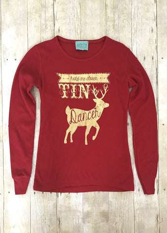 Judith March Hold Me Closer Tiny Dancer Thermal Tee