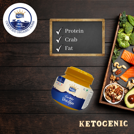 How to add desi organic ghee to your keto diet?