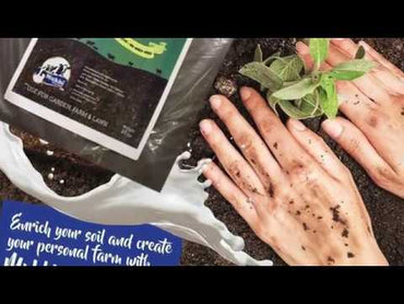 All Purpose Cow Manure for Tulsi | 100% Natural & Organic | Compost Plant Nutrient - 850g