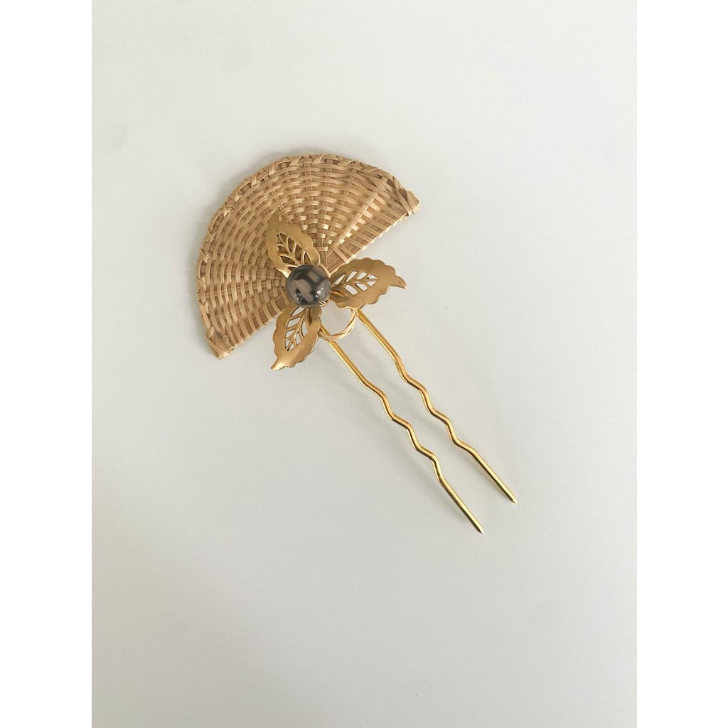 Light Gray Camille Hair Pin