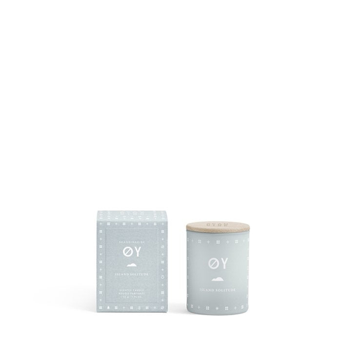 Light Gray Skandinavisk Mini Scented Candle