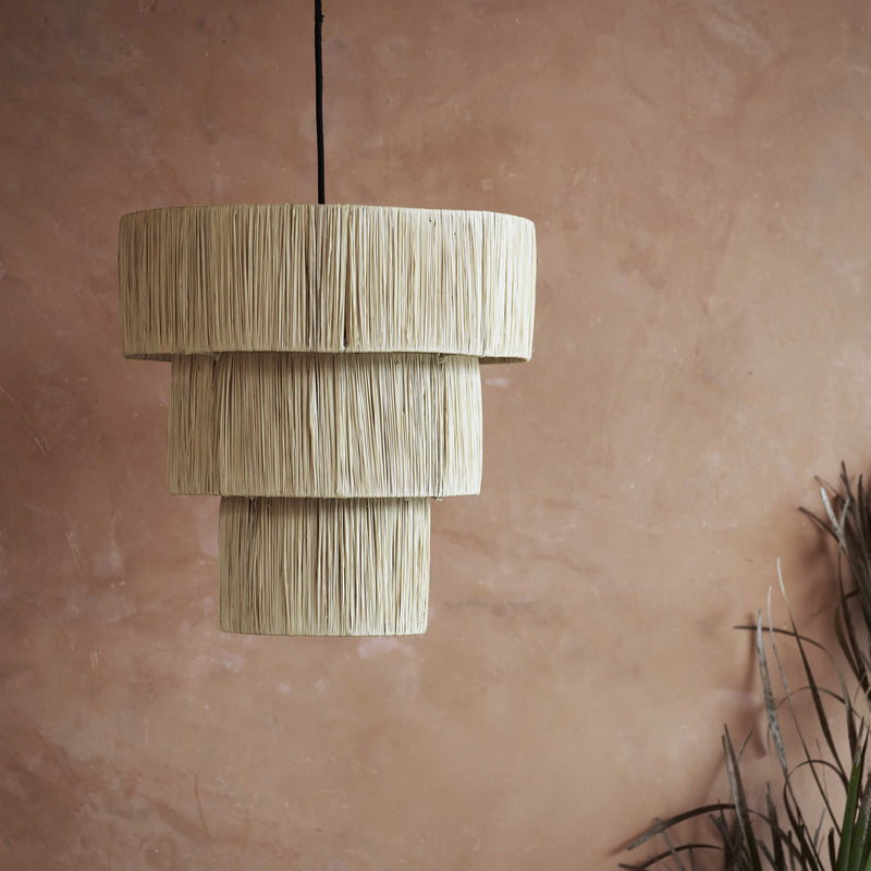 raffia light shade by tine k home