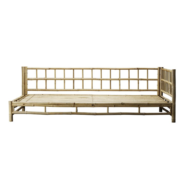left bamboo lounge bed