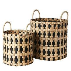 Collect Basket Cross Pattern
