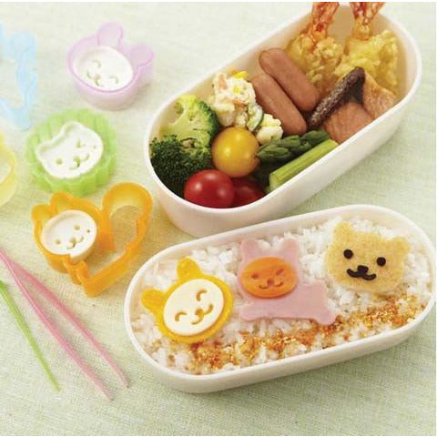 Goldenrod Bento Cookie Cutters Animals