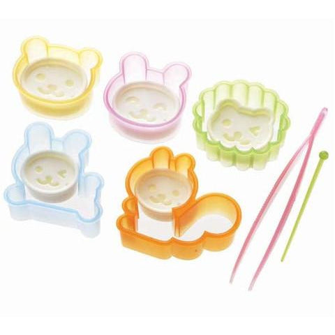 Sandy Brown Bento Cookie Cutters Animals