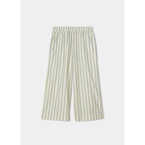 Wide Pant Tiny Stripe