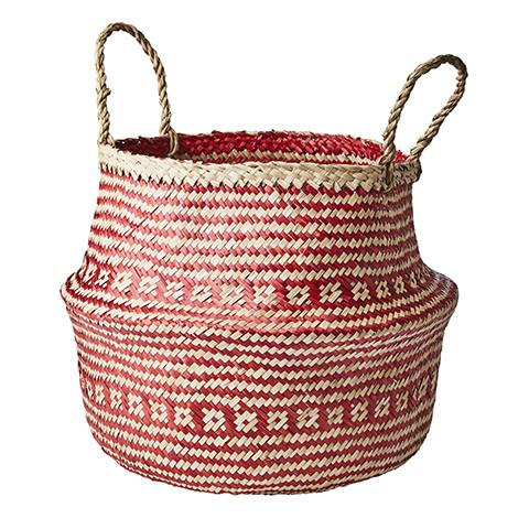 Collect Basket Red Natural