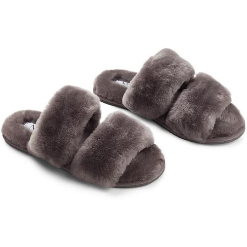 Cosy Sheepskin Strap Slippers