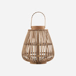 rounded bamboo lantern by house doctor