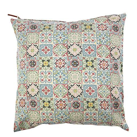 Gray Hacienda Pillow Cover