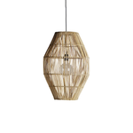 rattan dome lampshade by designer tine k