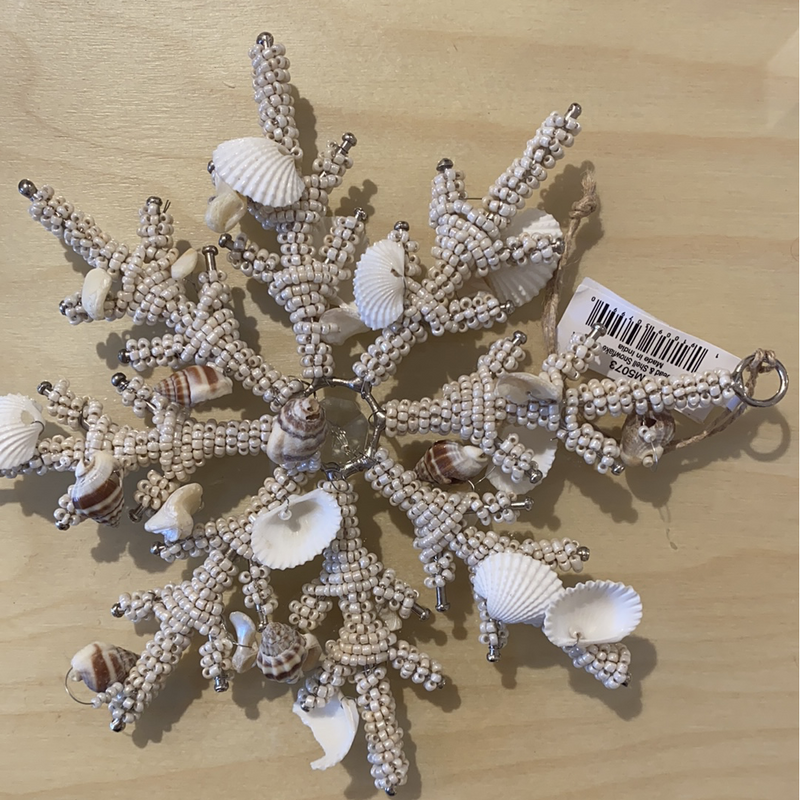 Snowflake, Bead and Shell