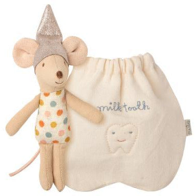 Gray Tooth Fairy Mouse, Little
