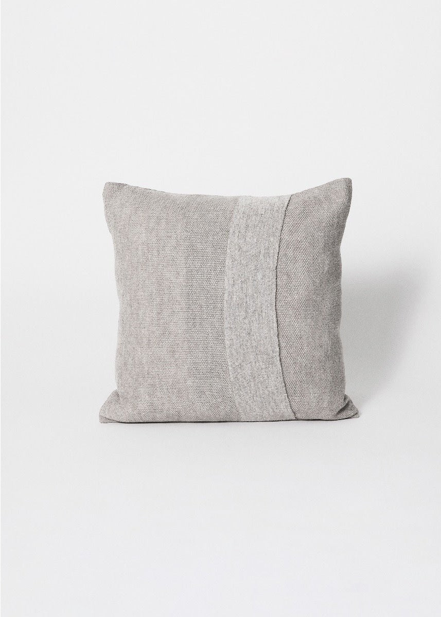 square light grey pillow