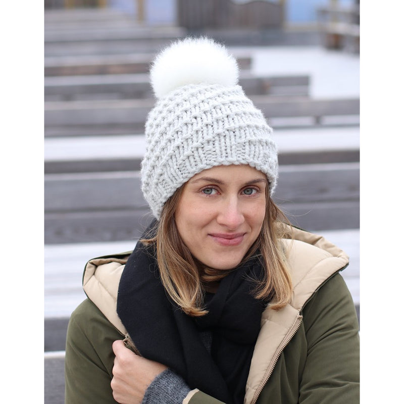 loch hat winter knitting pattern toft