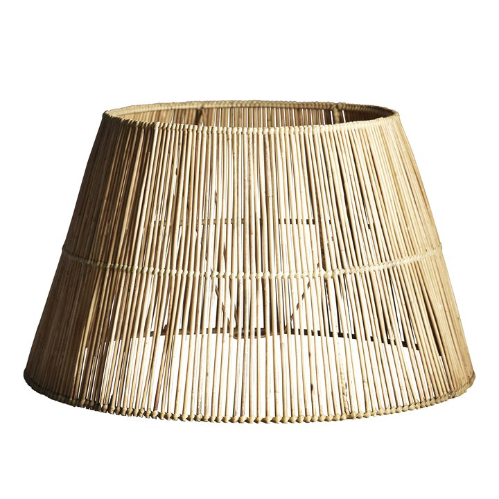extra large classic rattan lampshade by designer tine k