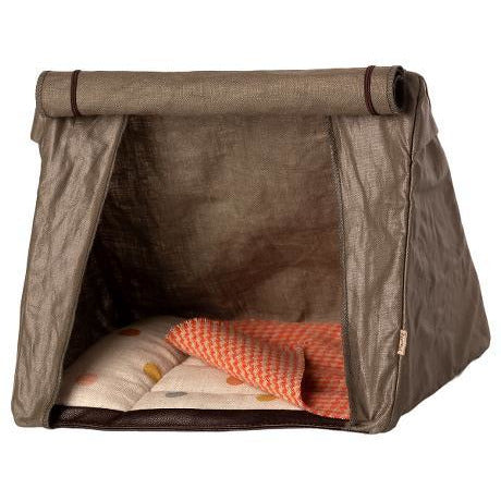 Dark Olive Green Happy Camper Tent, Mouse