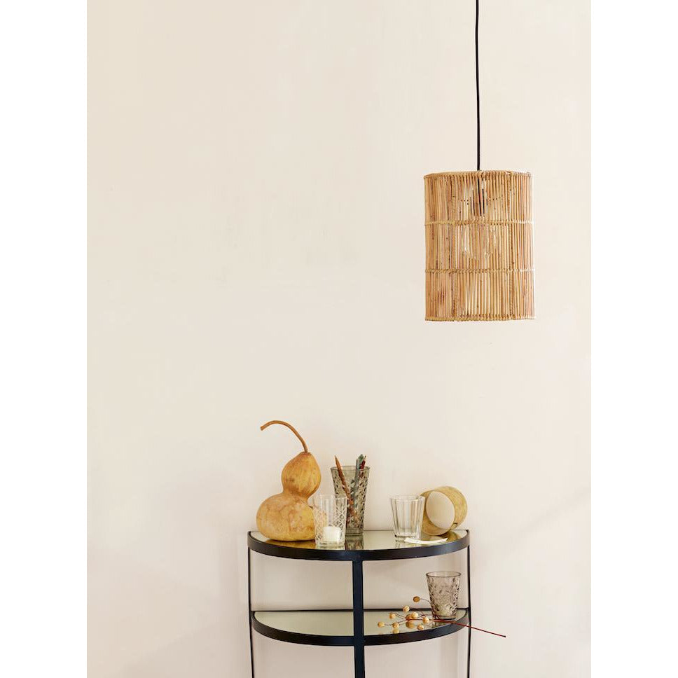 rattan tube lampshade by Tine K Home