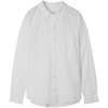 organic cotton button up in white by designer aiayu
