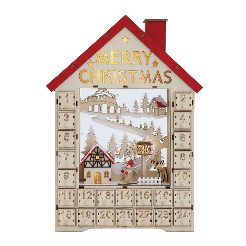 Wood House Advent