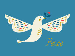 Colorful Peace Dove Cards Box of 8