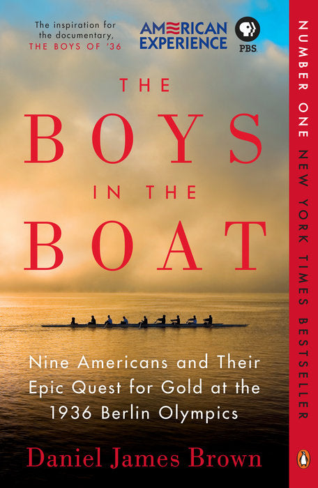 Boys In The Boat Paperback Book