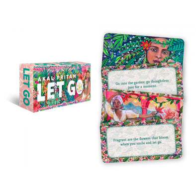 Let Go Inspirational Cards