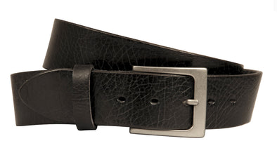 Lato Curved Handmade Leather Belt