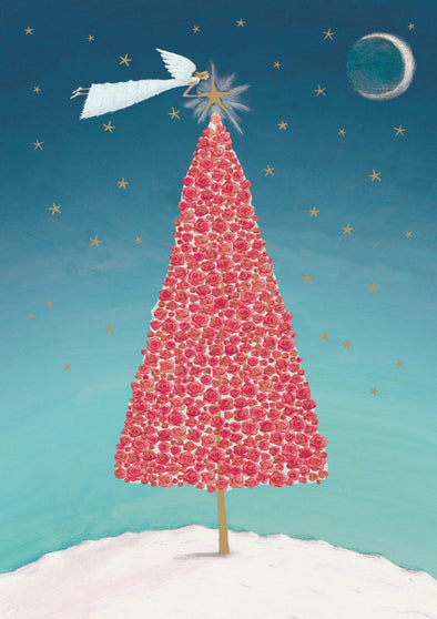 Christmas Tree Standard Cards Pack of 8