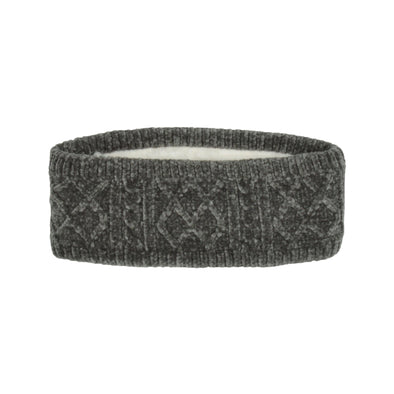Chenille Headband in Grey