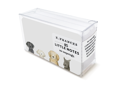 Dog Days Little Notes Boxed Notes - Set of 85