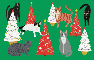 Cat and Dog Palais Notecards Pack of 8