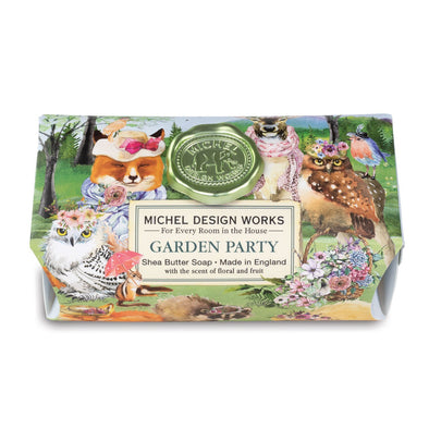Garden Party Large Soap Bar