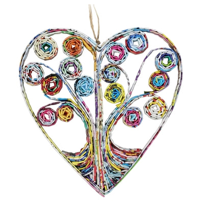 Heart Tree Ornament