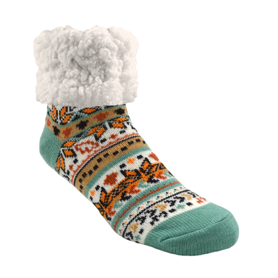 Classic Slipper Sock in Autumn White