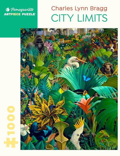 Charles Lynn Bragg: City Limits 1000-Piece
