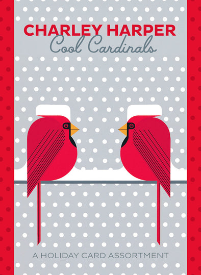 Cool Cardinals Holiday Cards Set of 20