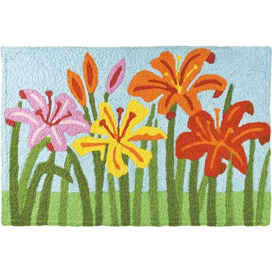 Day Lillies Rug