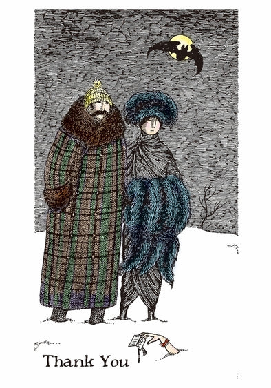 Edward Gorey: Thank You Note Box Set of 10