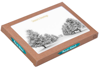 Boxed Holiday Cards by Jim Brandenburg Box of 12