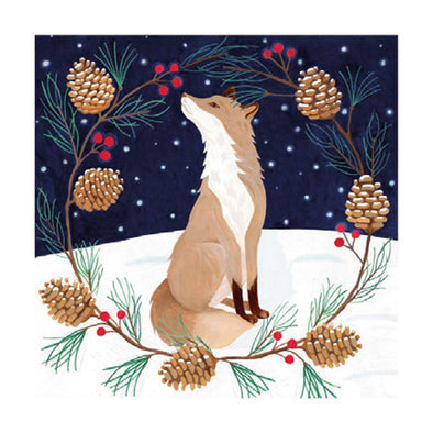 Christmas Fox - Christmas Cello Pack Set of 8