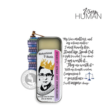 THE STAND UP + SPEAK OUT Power Blend Solid Perfume