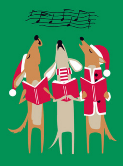 Happy Howlidays Cards Box of 8