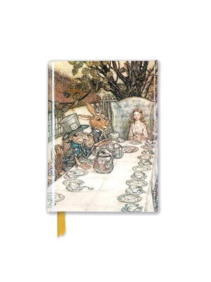 Rackham: Alice In Wonderland Tea Party (Foiled Pocket Journal)