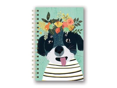 Fancy Dog Spiral Notebook