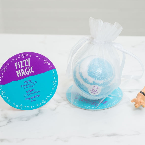 Organza Bag Farm Surprises Bath Bomb