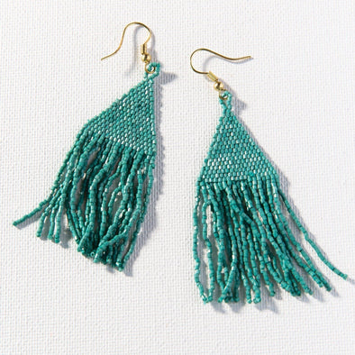Teal Petite Luxe Earring